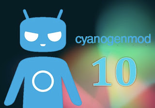 CyanogenMod 10 v2 bootanimation