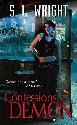 Confessions of a demon Allay urban fantasy series by Susan Wright