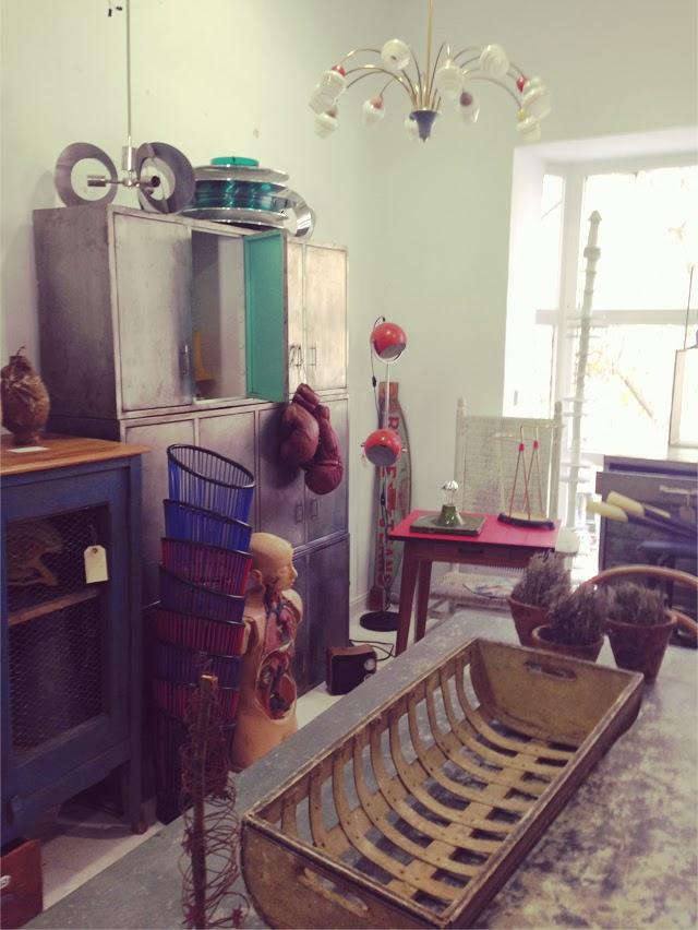 Boutiques vintage -Galerias Piquer - Marché aux Puces Madrid