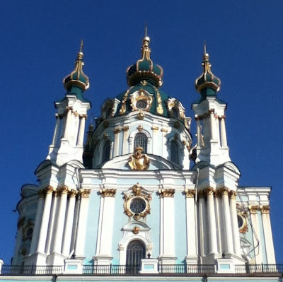 St Andrews Church, Kiev, Ukraine