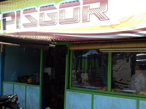 バリ島ナンバー1のpisan goreng屋 PISGOR  ピスゴル