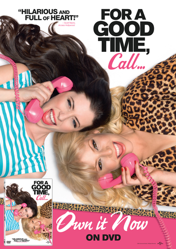 For A Good Time Call คู่ว้าว…สาวเซ็กซ์โฟน HD 2012