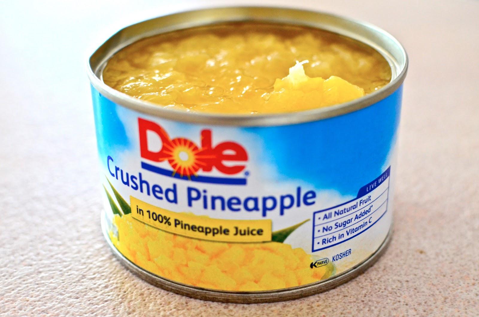 Crushed pinapple