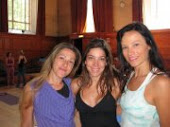 Assisting ShivaRea in London with Luciana Ferraz and Debora Cutolo.