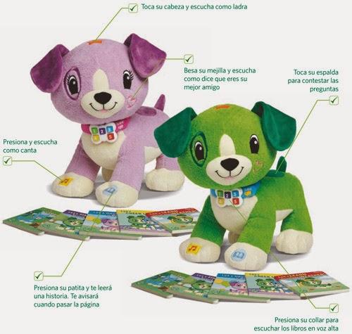 peluches interactivos de Cefa Toys que ayudan en la lectura con cuentos