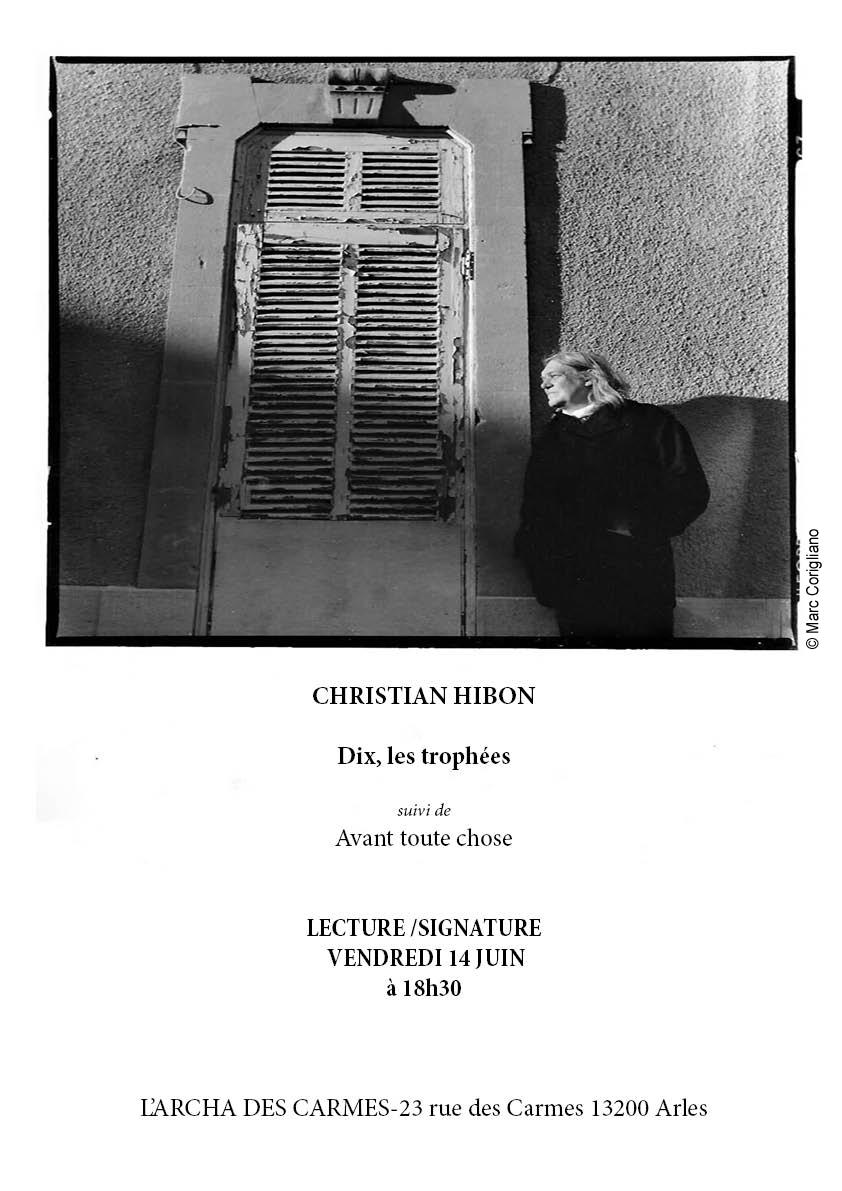 Christian HIBON, « DIX, LES TROPHÉES », Pierre Mainard Éditeur, mai 2019