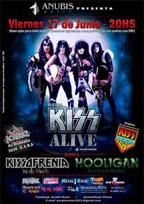 """17 de Junio de 2016: Kiss Alive en """"Acatraz"""""""