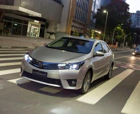 Toyota Corolla 2015 fotos lançamento