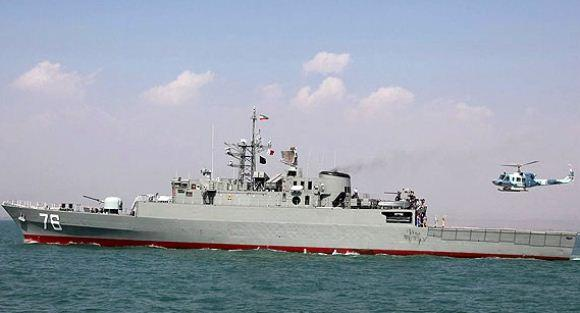 Jamaran, kapal perusak buatan Iran