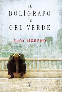 http://ex-libris-sol.blogspot.com.es/  El bolígrafo de gel verde - Eloy Moreno