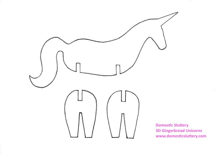 Remarkable image inside printable unicorn template