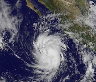 Tropensturm MIRIAM wahrscheinlich bald Hurrikan - Baja California, Mexiko bedroht, Miriam, aktuell, Mexiko, Baja California, Satellitenbild Satellitenbilder, Vorhersage Forecast Prognose, Zugbahn, Verlauf, Pazifische Hurrikansaison, Hurrikansaison 2012, September, 2012,