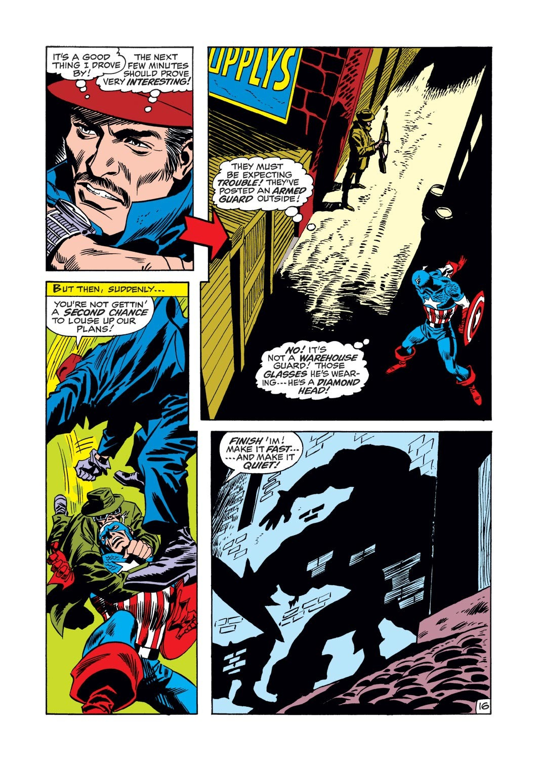 Captain America (1968) Issue #126 #40 - English 16
