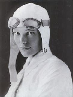 Amelia Earhart -World Famous Woman Pilot