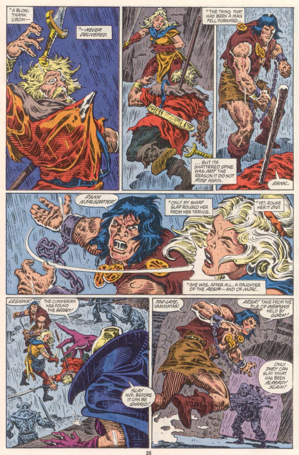 Conan the Barbarian (1970) Issue #254 #266 - English 20