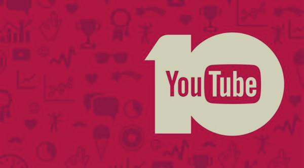 يوتوب يكشف عن 10مقاطع مشاهدة في عام 2015