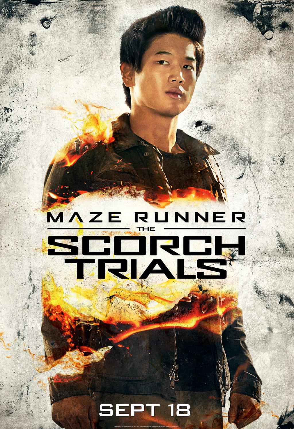 Maze Runner: The Scorch Trials (Minho)