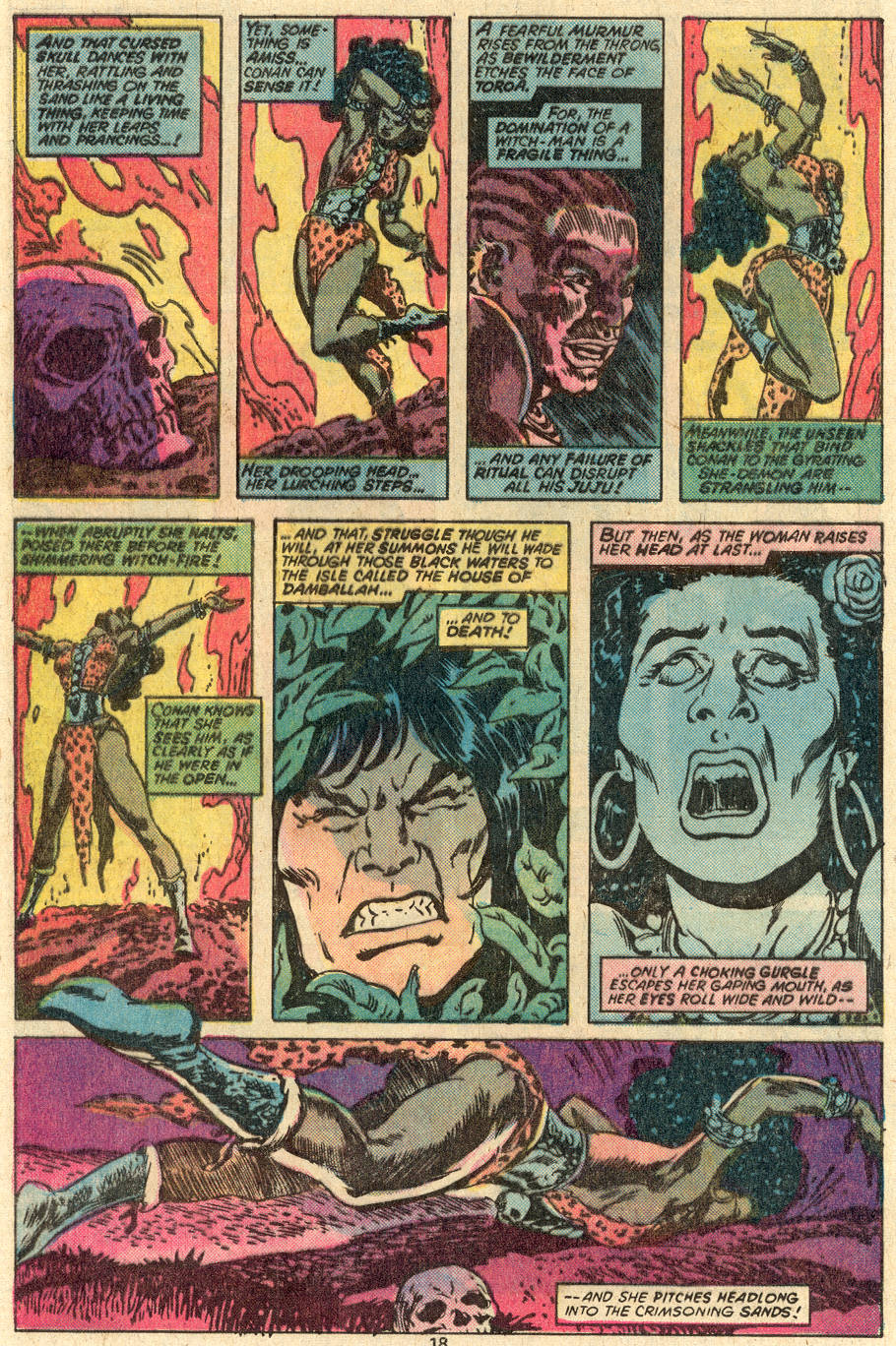 Conan the Barbarian (1970) Issue #83 #95 - English 13