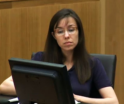 Jodi Arias listens to expert testimony on her behalf on March 14, 2013
