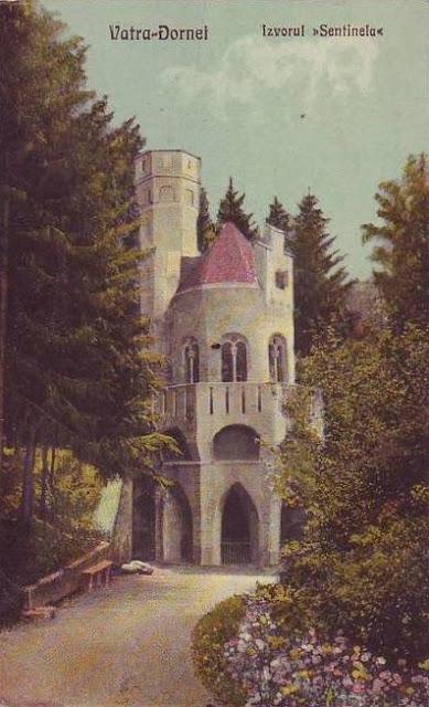 Izvorul Sentinela din Vatra Dornei de odinioara