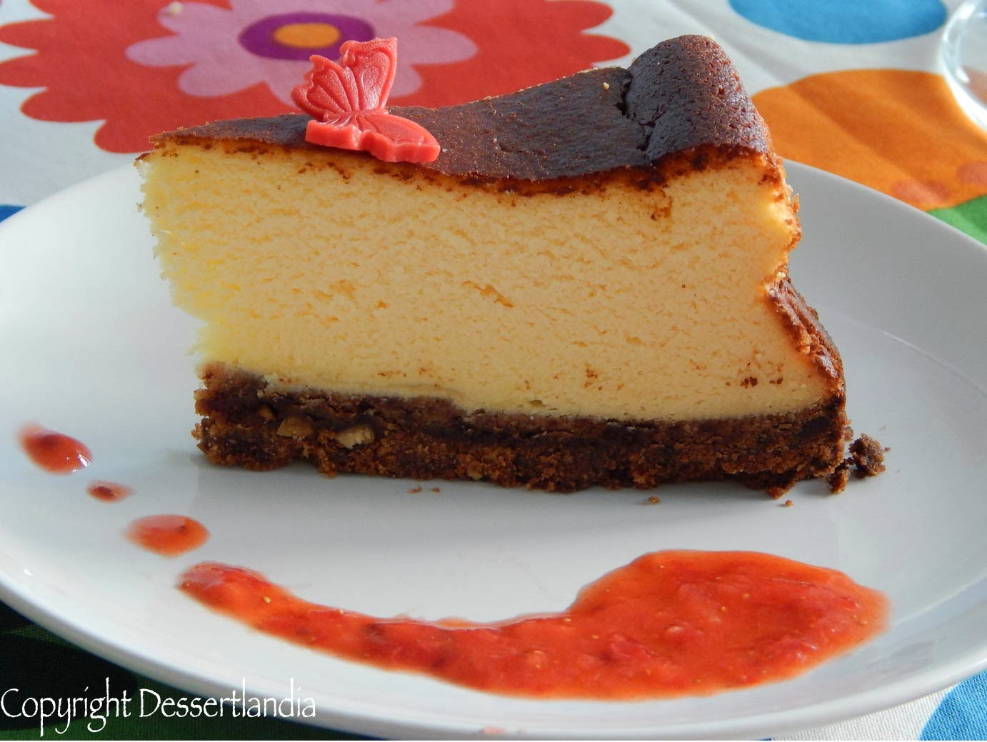 Dessertlandia: Very easy cheesecake
