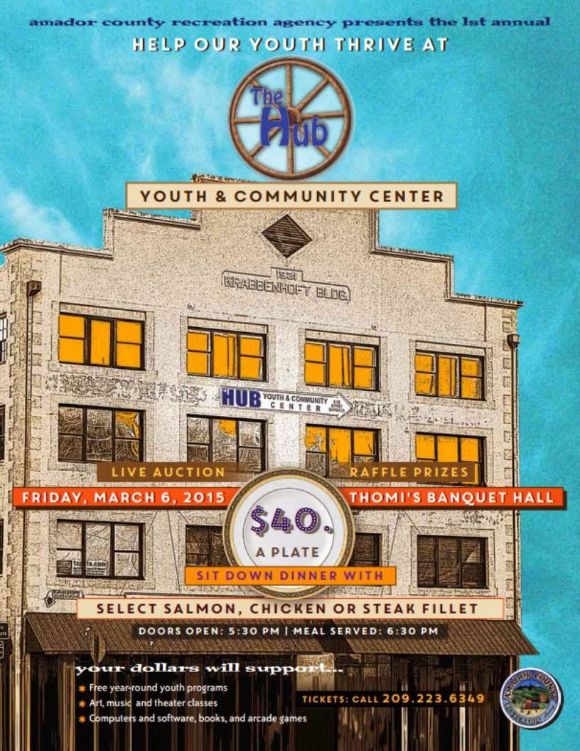 The Hub Youth and Community Fundraiser - Fri Mar 6