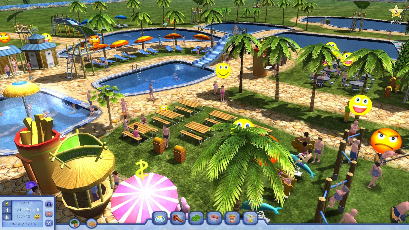 Water Park Tycoon Game Free Download Full Version For Pc