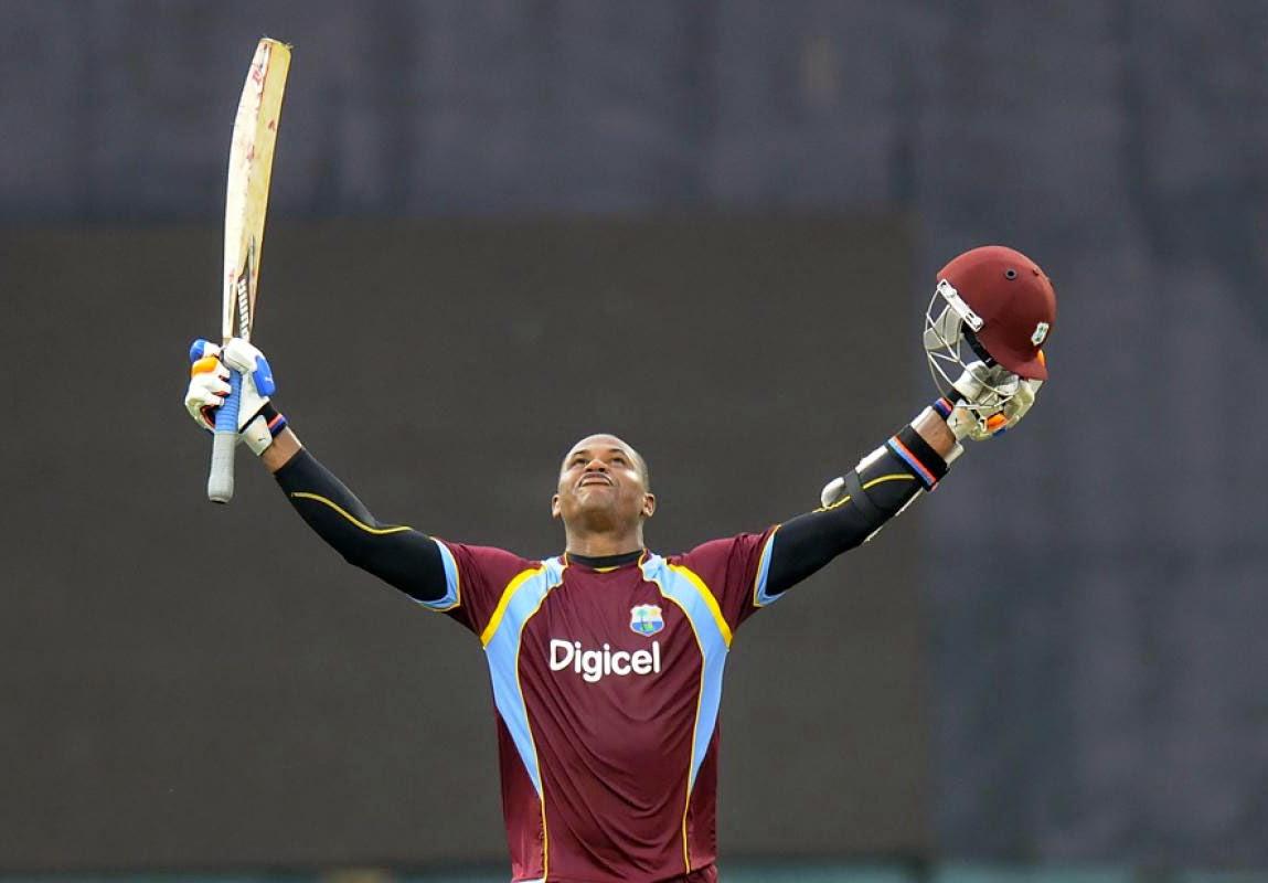 Marlon-Samuels-126runs-India-vs-West-Indies-1st-ODI-Kochi-2014