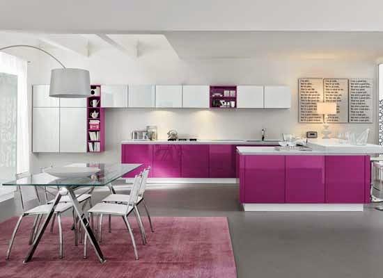 10 desain dapur minimalis warna ungu blog rumah minimalis