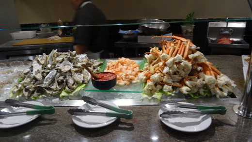 Kuma Seafood Buffett - Chinese and Japanese Dishes by Stacey Kuhns