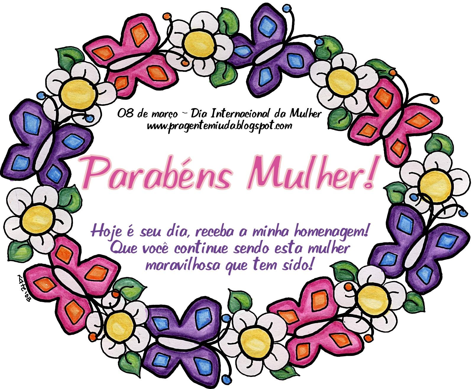 Frases Para O Dia Internacional Da Mulher 8 De Maro | Tattoo Design ...