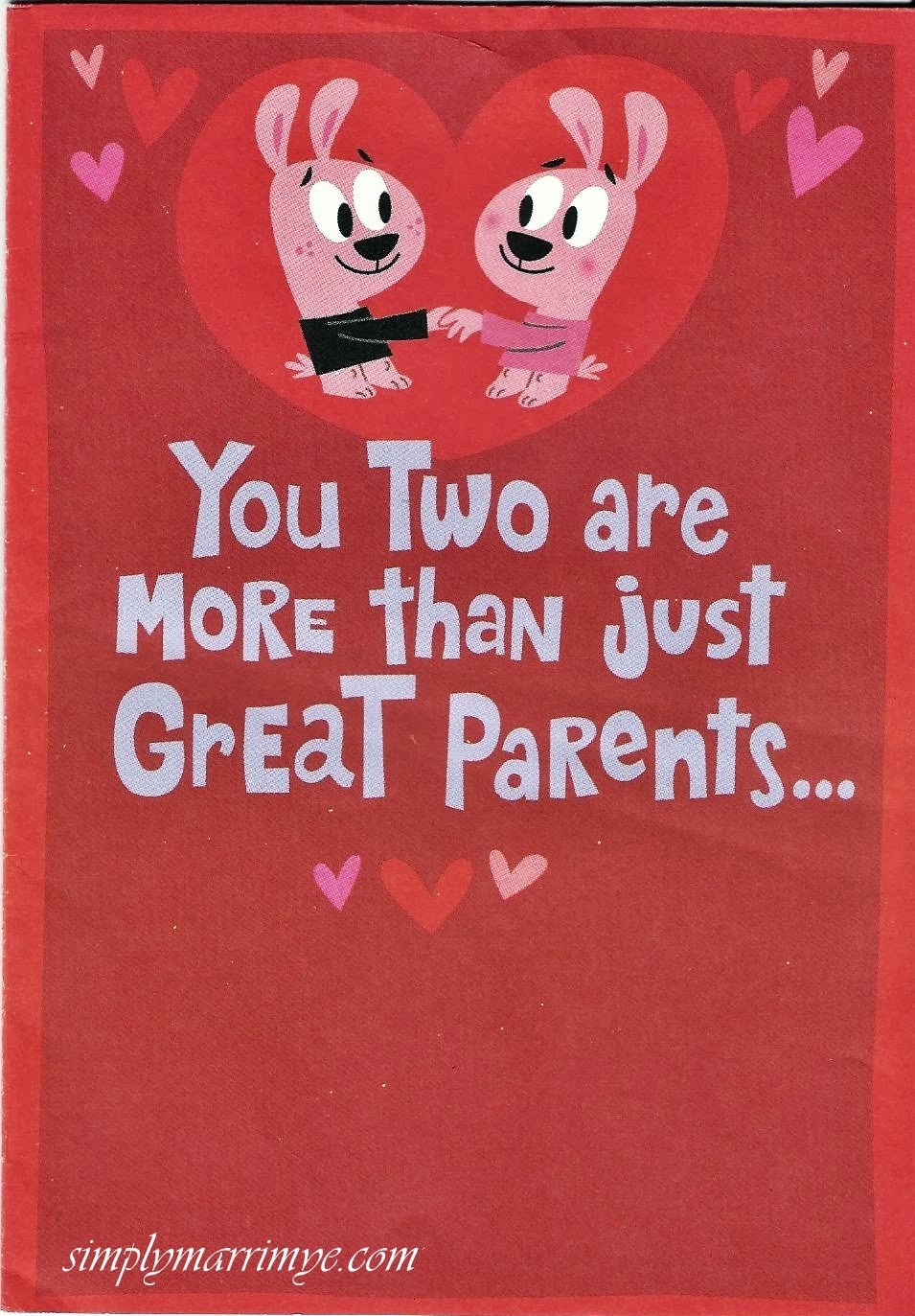 A Special Surprise on Valentine's Day - card1