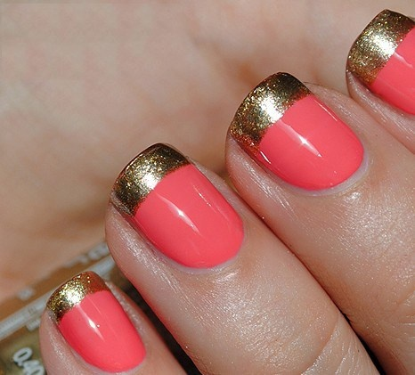 Lush fab glam blogazine fun summer nail colors with the right summer brights try a bright color nail polish like coral or hot pink and add some pizzazz with just the right amount of silver or gold glitter nail polish prinsesfo Image collections