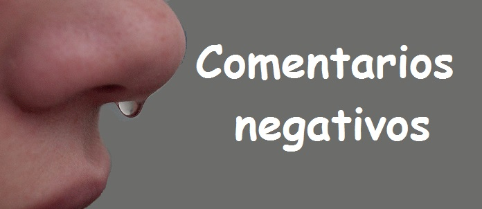 Comentarios negativos en blogger