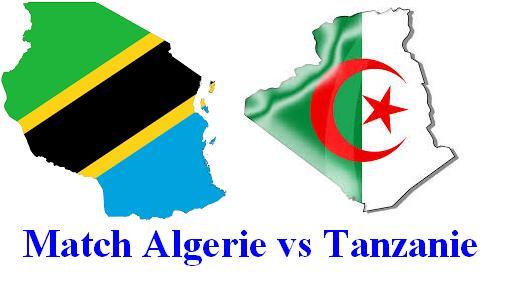 القنوات الناقلة لمباراة الجزائر و تنزانيا بث مباشر اليوم Match Tanzania vs Algeria