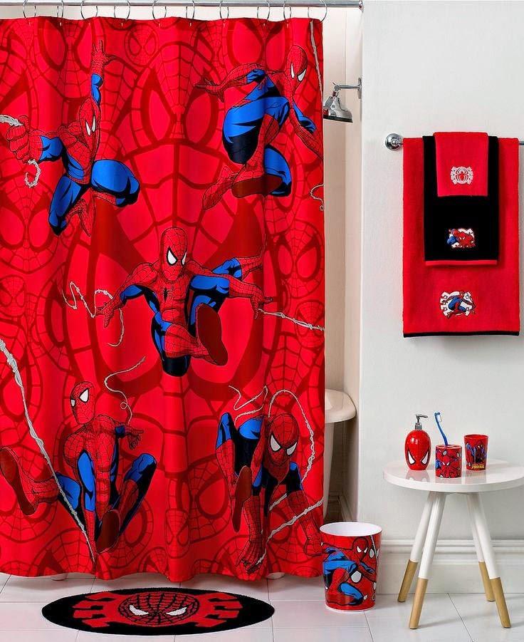 Bed Bath Beyond Marvel Spiderman Shower Curtain