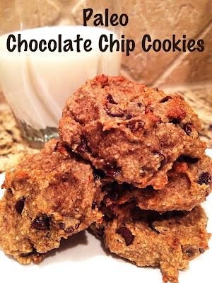 Healthy Makeover: Paleo Chocolate Chip Cookies