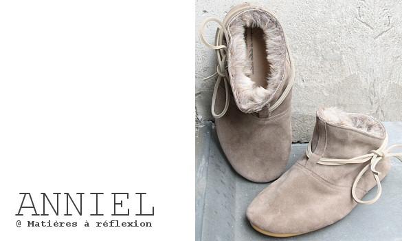 Chaussures Anniel Promo Chaussures Anniel Fourrées