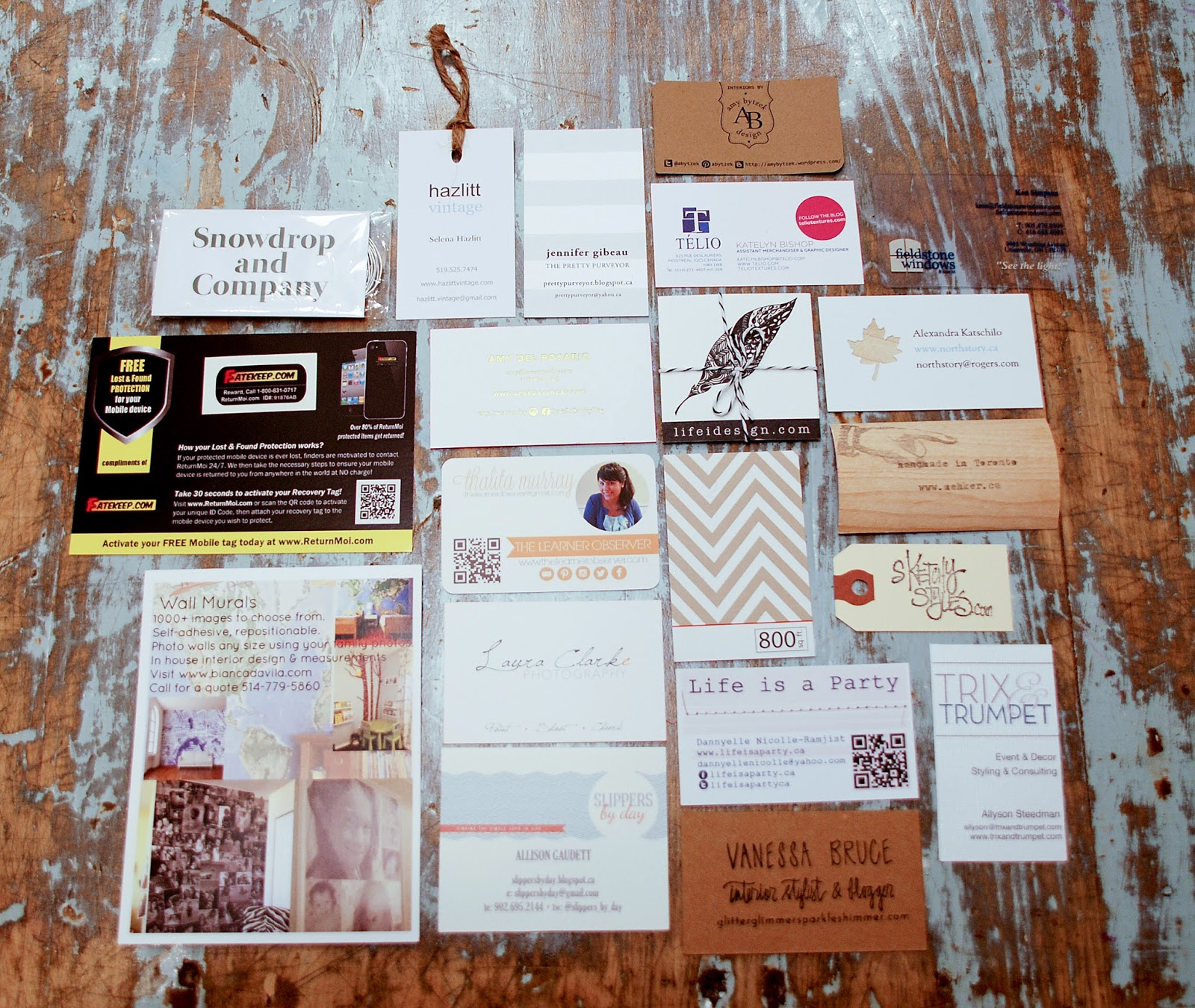 Blogger Business Card Inspiration Rambling Renovators