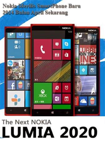 Nokia Lumia 2020 Keluaran 2014