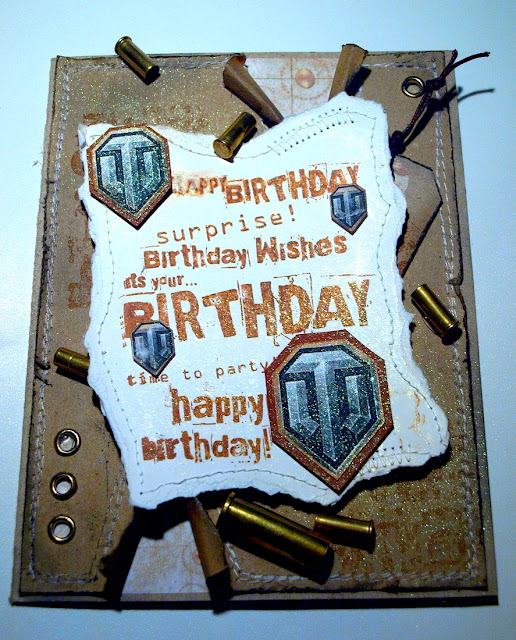 handmade Birthday card_contest winer