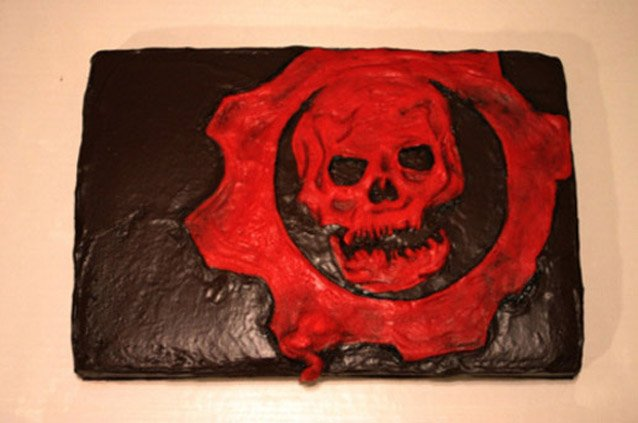 Portal Cake Following The Recipe