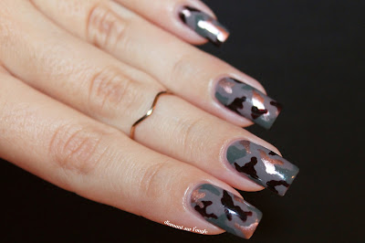 Army Nails // Nail Art