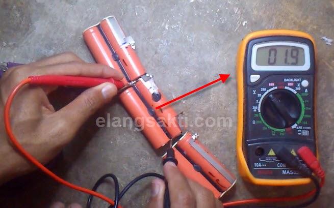 cara cek memperbaiki cell baterai laptop lenovo thinkpad edge 13 rusak