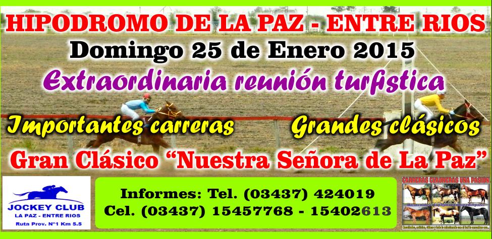LA PAZ - REUNION 25.01.2015