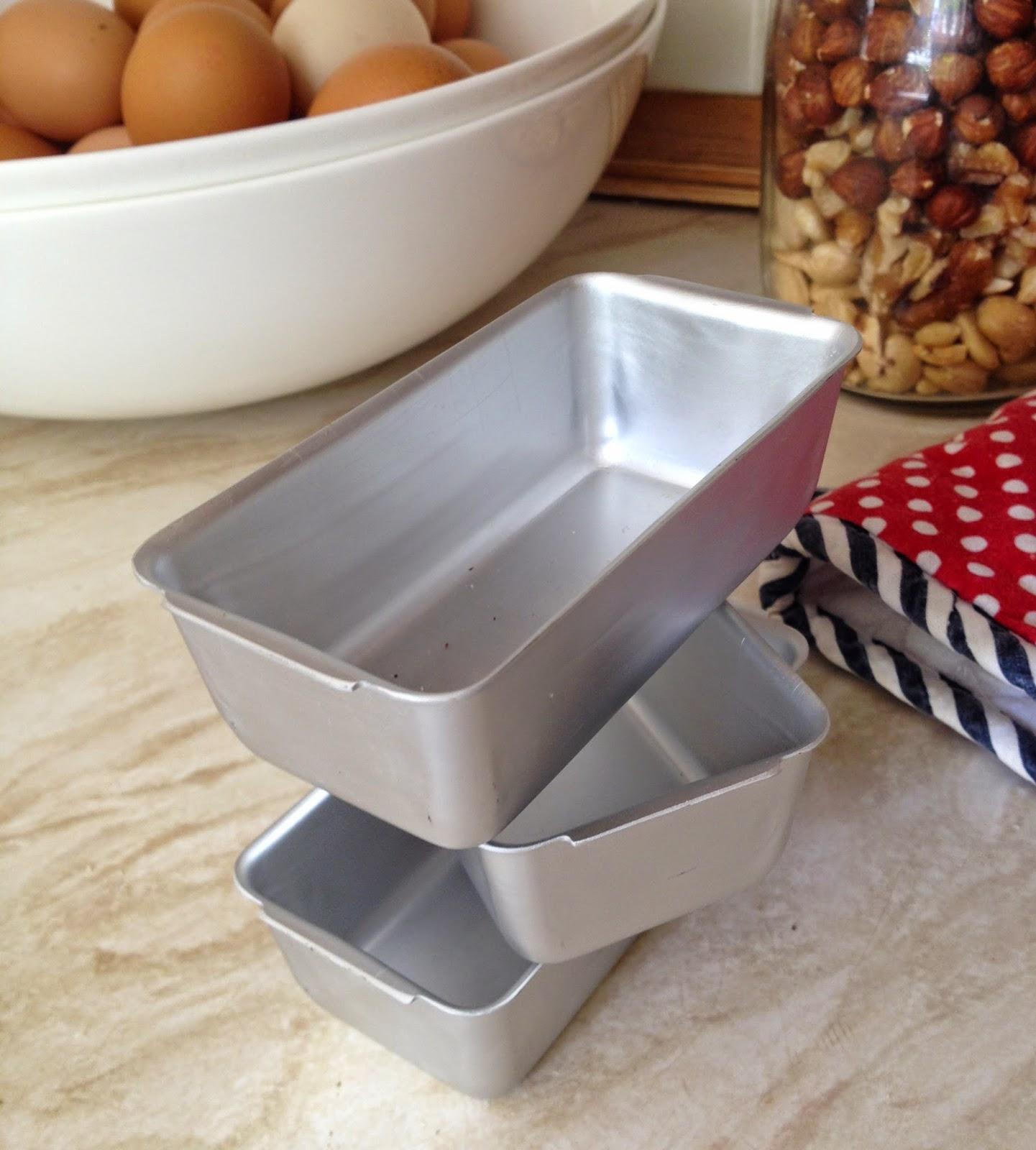 loaf tins or pans