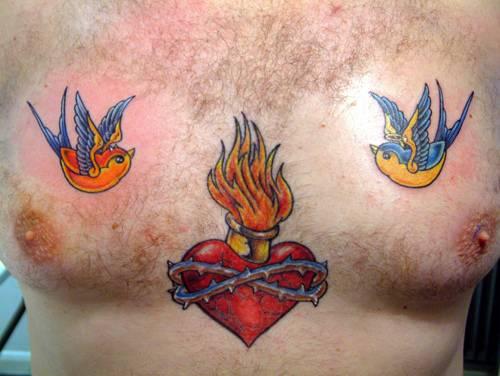 heart tattoos - cuadernodelopinionista