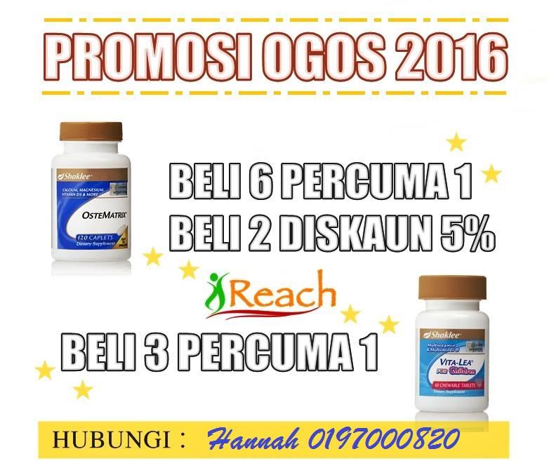 PROMOSI OGOS 2016