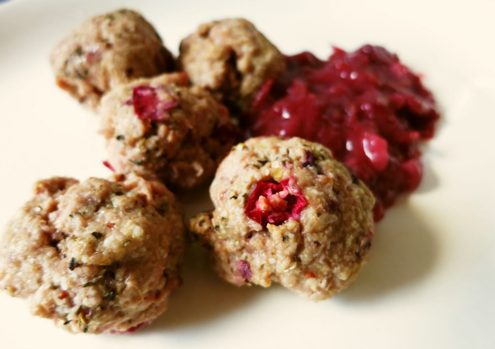 Cranberry-Parmesan Meatballs