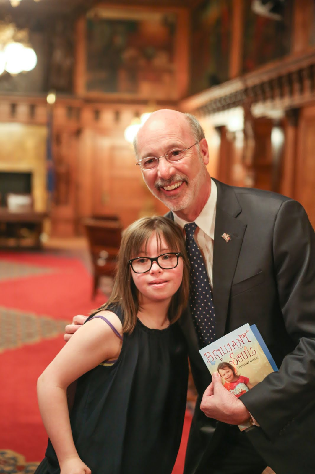 Chloe meets with PA Governor Wolf and gives him the SICC Report